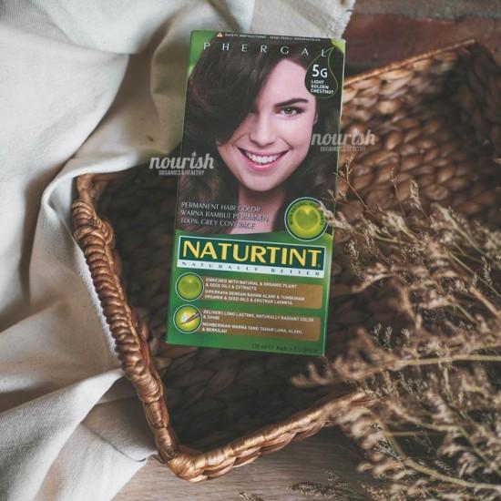Naturtint, Permanent Hair Colorant, 5G Light Golden Chestnut