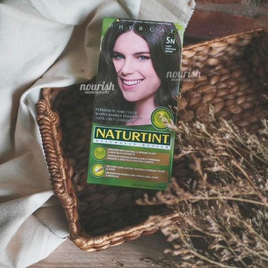 Naturtint, Permanent Hair Color, 5N Light Chestnut Brown