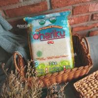Hariku, Organic Ciherang White Rice 2 kg (Beras Ciherang Organik)