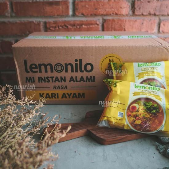 Lemonilo Mie Kuah Rasa Kari Ayam NO MSG - 1 Dus ( 20 Pcs )