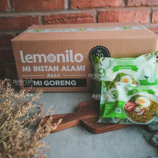 Lemonilo Mie Goreng Alami NO MSG - 1 Dus ( 20 Pcs )