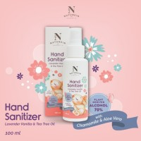 Naturein Hand Sanitizer Lavender, Vanilla & Tea Tree Oil 100ml