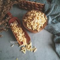 Almonds Blanched Slivered 100gr