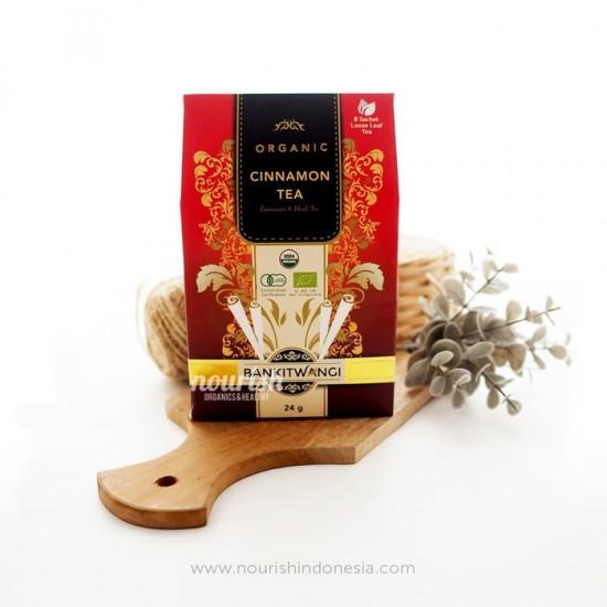BankitWangi Organic Cinnamon Tea 24 gram (8 sachet loose leaf tea)