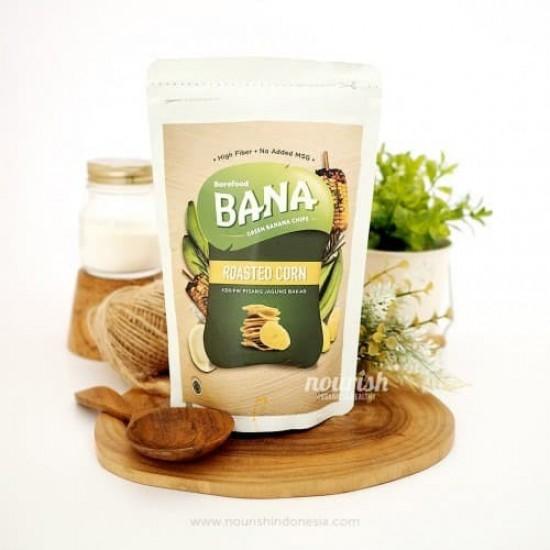 Barefood Bana Roasted Corn 50gr