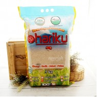 Hariku, Organic White Rice Pandan Wangi 5 kg (Beras Putih Organik)