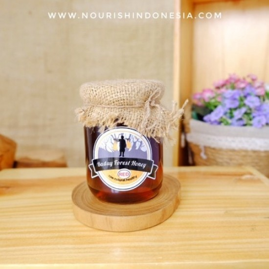 Baduy Forest Honey, Red Honey 280gr Madu Manis