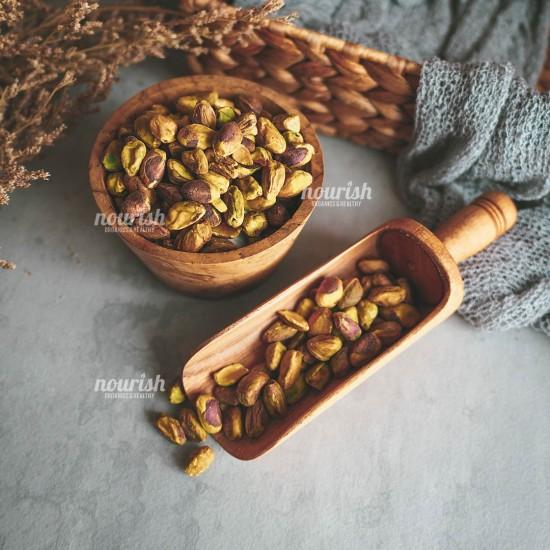 Kacang Pistachio Panggang 1kg (tanpa cangkang)