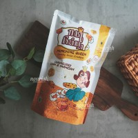 Munching Queen, Onion Crackers Caramelized Corn & Parmesan 60gr NO MSG