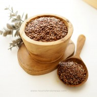 Natural Brown Flaxseed 1KG