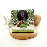 Pod Chocolate, Peppermint 45gr (Vegan Chocolate with Coconut Sugar)
