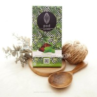 Pod Chocolate, Peppermint 100gr (Vegan Chocolate with Coconut Sugar)
