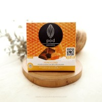 Pod Chocolate, Honeycomb 45gr (Non-Dairy Milk Chocolate)