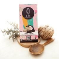 Pod Chocolate, Cookie & Cream 100gr (Creamy Vegan Milk Chocolate)