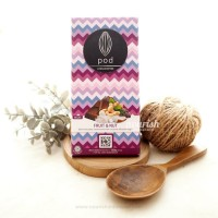 Pod Chocolate, Fruit & Nut 100gr (Vegan Chocolate with Coconut Sugar)