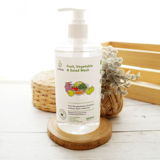 Pureco Fruit, Vegetable & Salad Wash 500 ml