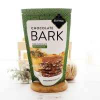 Krakakoa, Chocolate Bark, Dark Chocolate with Focaccia 100gr