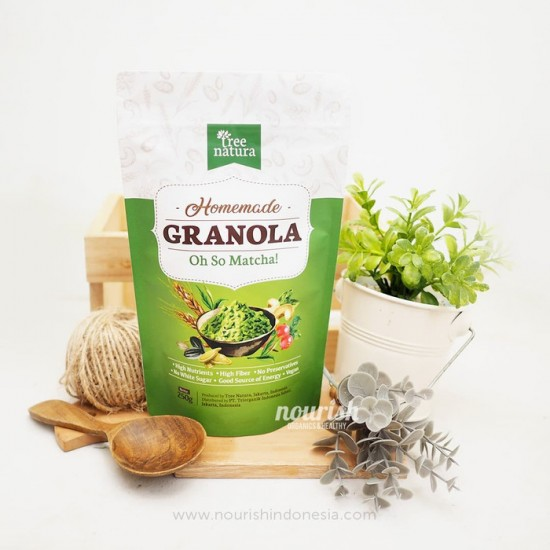 Tree Natura, Granola Oh So Matcha 250gr