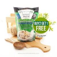 BUY 2 GET 1 FREE Skinny Pasta, Konjac Rice 9 cal (200gr)