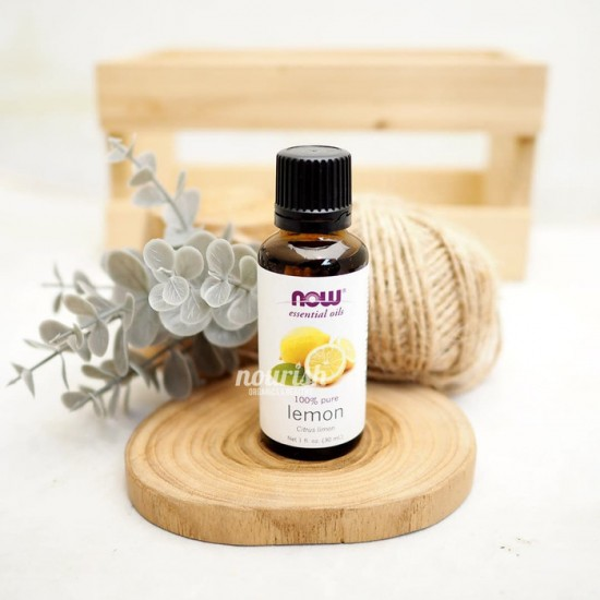 NOW, Lemon Essential Oil, Cold Press, 100% Pure 30ml