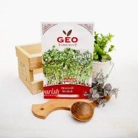 Geo Sprouts, Organic Broccoli Cabbage Sprout Seed 13 g