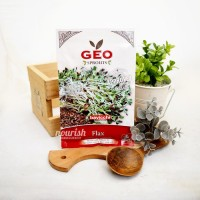 Geo Sprouts, Organic Flax Sprout Seed 80 g