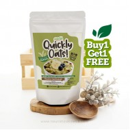 Quickly Oats! Instant Oatmeal Matcha BUY 1 GET 1 FREE (250gr x 2pc)
