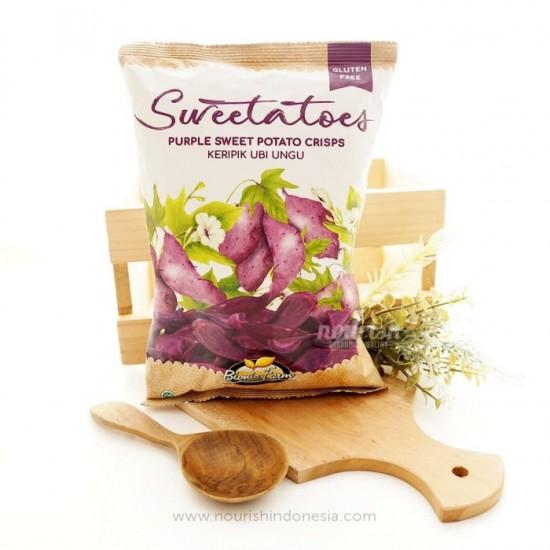 Bionic Farm, Purple Sweet Potato Crisps 50gr