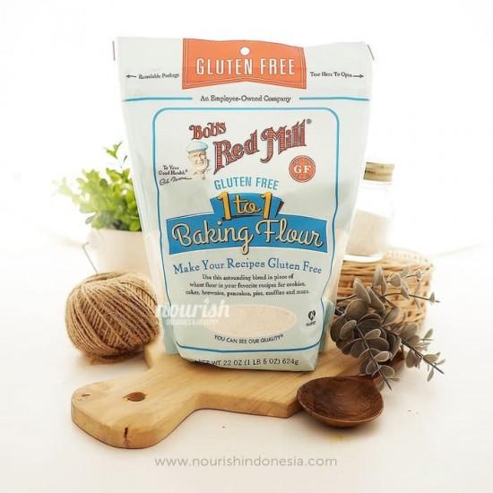 Bob's Red Mill, 1 to 1 Baking Flour, 22 oz (623 g) Gluten Free