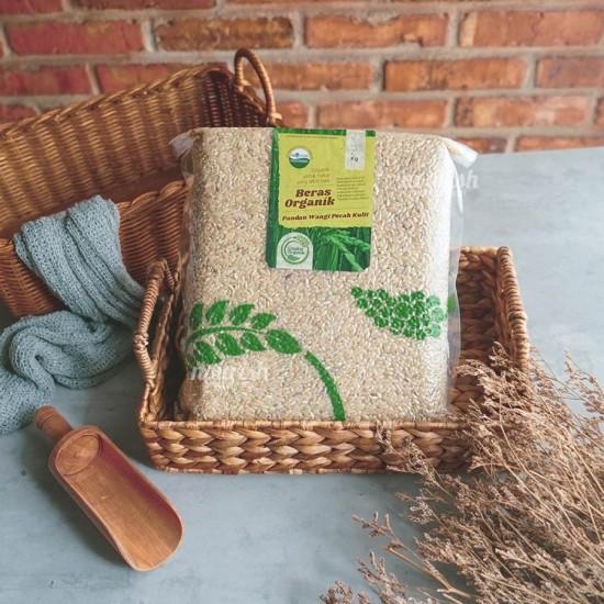 Lingkar Organik, Beras Coklat Organik (Organic Brown Rice) 2 kg