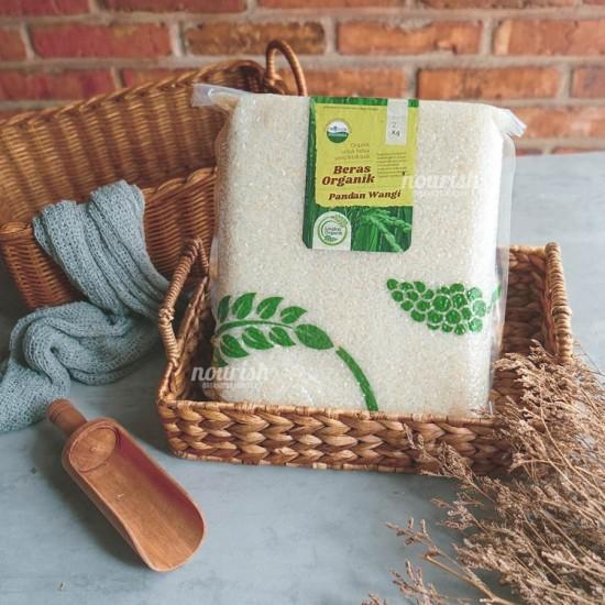Lingkar Organik, Beras Putih Organik (Organic White Rice) 2 kg