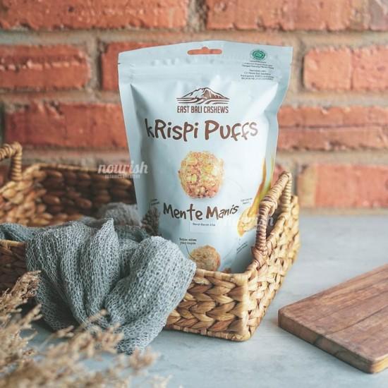 East Bali Cashew, Krispi Puffs Mente Manis 65gr