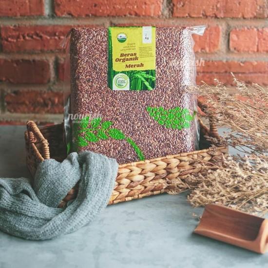Lingkar Organik, Beras Merah Organik (Organic Red Rice) 2 kg