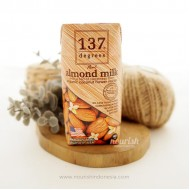 137 Degrees Real Almond Milk With Organic Coconut Nectar 180 ml