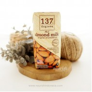 137 Degrees Real Almond Milk Original Unsweetened 180 ml