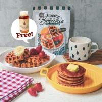 Happy Breakie Gluten Free Pancake & Waffle Mix - Classic 200gr