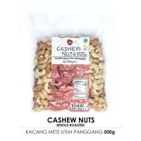 Timurasa, Roasted Cashew Nuts (Kacang Mete Utuh Panggang) 500gr