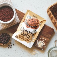 Quickly Oats! Minis! Instant Oatmeal Heavenly Choco Sachet 55gr