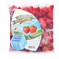 All Seasons Strawberry Frozen 500 gr (Tanpa Pestisida)