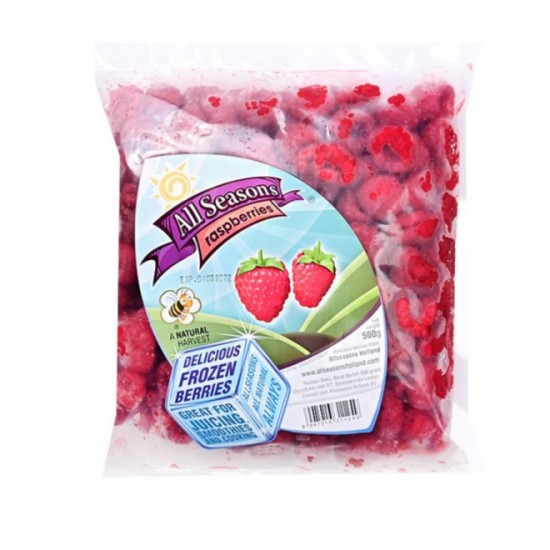 All Seasons Raspberry Frozen 500 gr (Tanpa Pestisida)