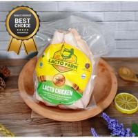 Ayam Organic Lacto Farm 800 - 900 gr (Ayam Organik Probiotik)