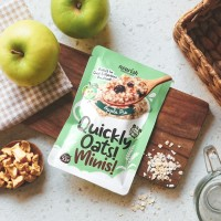 Quickly Oats! Minis! Instant Oatmeal Apple Pie Sachet 55gr