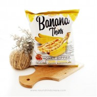 Leslies Banana Thins Honey Dipped 100 Gr