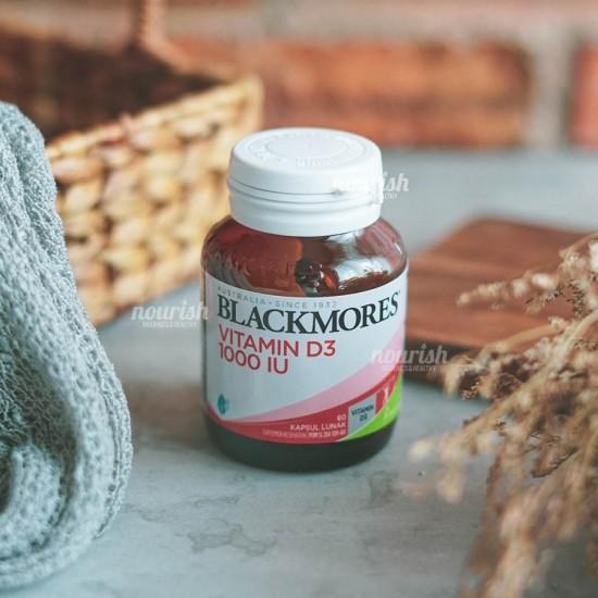 Blackmores Vitamin D3 1000 IU (60) KALBE BPOM