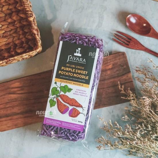 Javara, Mie Ubi Ungu (Purple Sweet Potato Noodle) 200gr Rp28