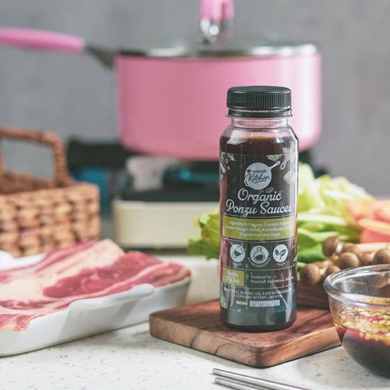 Organic Ponzu Sauces 250ml (Japanese Shabu-shabu Dipping Sauce)
