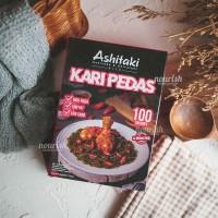 Ashitaki Mi Goreng Kari Pedas 75gr (Mie Rendah Kalori)