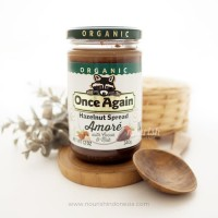 Once Again, Organic Hazelnut Spread with Cocoa & Milk 340g