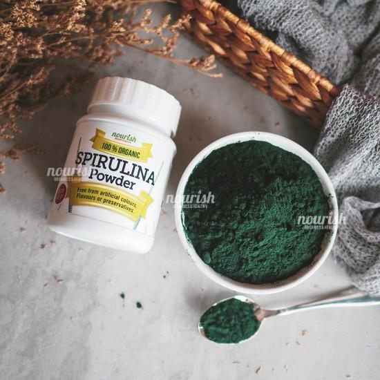 Organic Spirulina Powder (Netto 60gr)