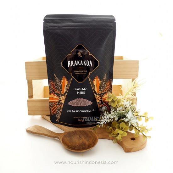 Krakakoa, Cacao Nibs with 70% Dark Chocolate 100gr